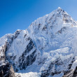 Mountain peak in Himalayas, Nuptse — Stock Photo #35189737
