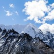 Mountain peaks in Himalayas Nepal — Stock Photo