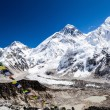 Mount Everest mountains landscape — Stock Photo #35189971