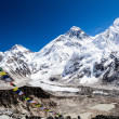 Stock Photo: Mount Everest mountains landscape