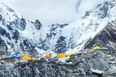 Everest Base Camp mountains landscape — Stock Photo