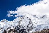 Himalaya mountain peaks autumn landscape — Stock Photo