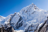 Mountain peak in Himalayas, Nuptse — Stock Photo