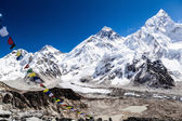Mount Everest mountains landscape — Stock Photo