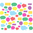 Speech bubbles — Stock Photo #20980875