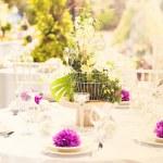 Wedding decoration table — Foto de Stock   #48764167