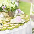 Wedding decoration table — Stock Photo #48763915