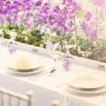 Wedding decoration table — Foto de Stock   #48763967