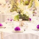 Wedding decoration table — Foto de Stock   #48764175