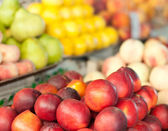 Fruits in the supermarket — Stock Photo
