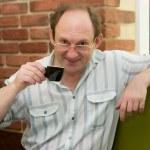 Man drinking coffee — Stock Photo #12889769
