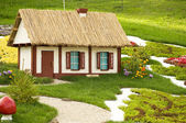 Beautiful summer cottage — Stock Photo