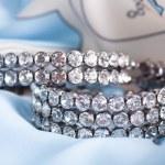 Beautiful jewelry on background — Stock Photo #14066849