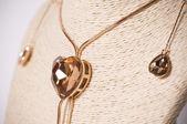 Golden jewellery — Stock Photo