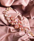Beautiful golden bracelet — Stock Photo