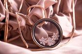 Bela jóia em fundo — Foto Stock