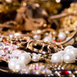 Large collection of gold jewellery — Stock Photo #14108628