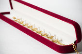Gouden juwelen — Stockfoto