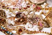 珠宝背景 — 图库照片