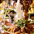 Food on a table — Stock Photo