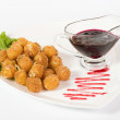 Fried cheese balls — Stock Photo