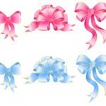 Varicoloured festive bow — Stock Vector #1633460