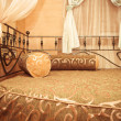 Oriental styled bedroom - Stock Photo