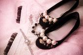 Güzel Aksesuar ve ayakkabı — Stok fotoğraf