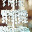 Luxury Glass Chandelier - Stock Photo