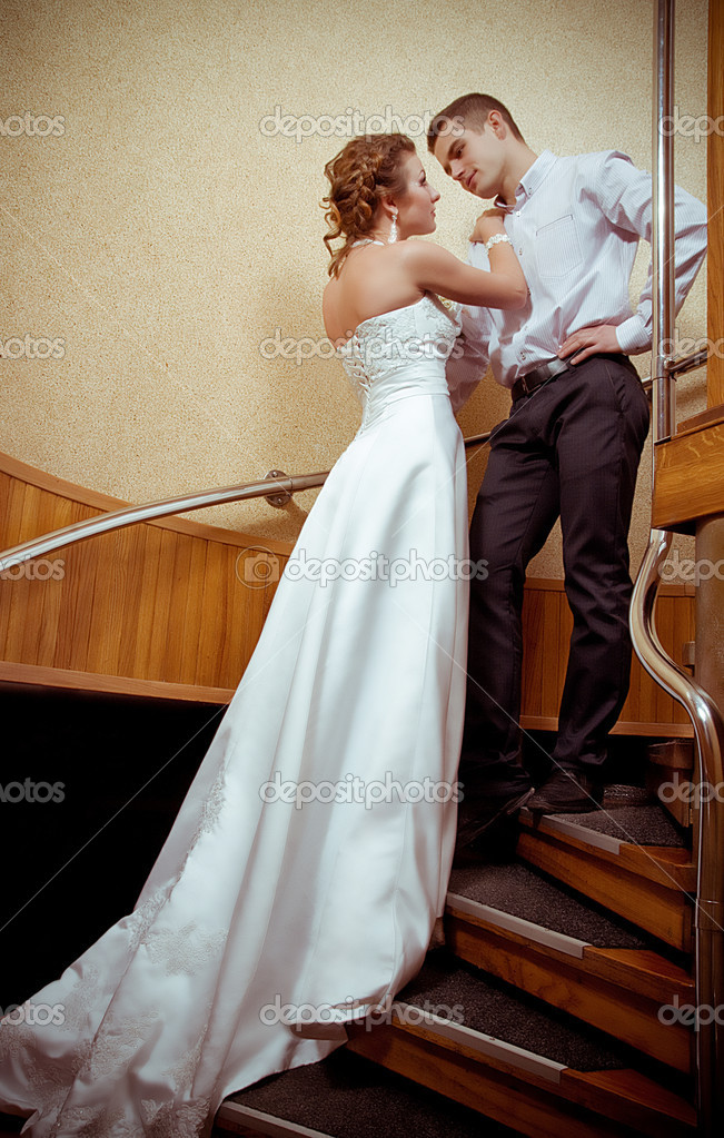 Wedding couple — Stock Photo #18921495