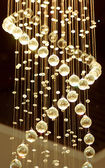 Luxury Glass Chandelier — Stock Photo