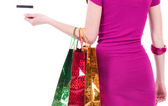 Shopping Woman — Stock Photo