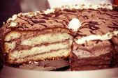 Chocolate Mud Cake — Stock Photo