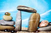 Piedras preciosas exóticas — Foto de Stock