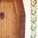 Elegant vintage door — Stock Photo #27281287