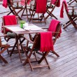 Foto de Stock  : Outdoor cafe