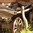 Old wooden wagon — Stock Photo #30238043