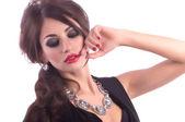 Kadın takı kolye — Stockfoto