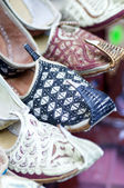 Authentic Iranian woman's shoes — Stockfoto