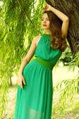 Ritratto di giovane donna bella — Foto Stock