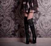 Perfette gambe femminile — Foto Stock