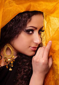 Woman in arabian clothes — Stock Photo