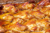 Roast chicken wings — Stock Photo