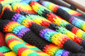 Knitted texture — Stock Photo