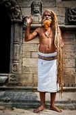 Holy Sadhu man — Stock Photo