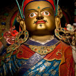 Statue of Buddhist guru Padmasambhava (Rinpoche) — Stock Photo