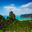 Tropical beach landscape panorama.Thailand — Stock Photo #22346951