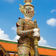 Royalty-Free Stock Photo: Thai style statue of Guard at Grand Royal Palace. Thailand