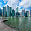 Urban Landscape Of Singapore - Stock Photo