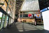 Singapore. Shopping center at Marina Bay Sands Resort — Stock Photo